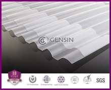 corrugated polycarbonate sheet/corrugated solid sheet/corrugeated roofing sheet