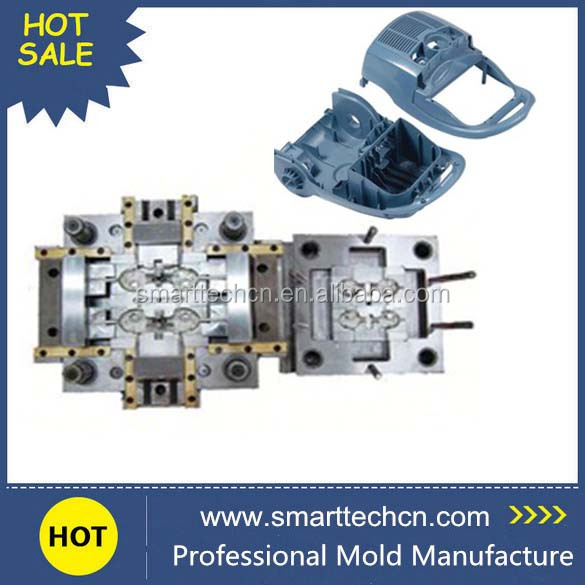 Custom China Plastic Injection Mold Manufacturer for Gamepad controller Plastic Housing