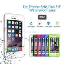 "New Arrival Water/Shock/Snow Proof PC Case Cover for iPhone 6 4.7"" 6 Plus 5.5"""