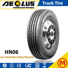 AEOLUS Windpower HN06 295/75r22.5 9.00R20 Import Radial TBR Tyre Steer Trailer Truck Tire