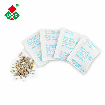 3G Raw Material Absorbent Activated Clay Desiccant Packs in Composite Paper