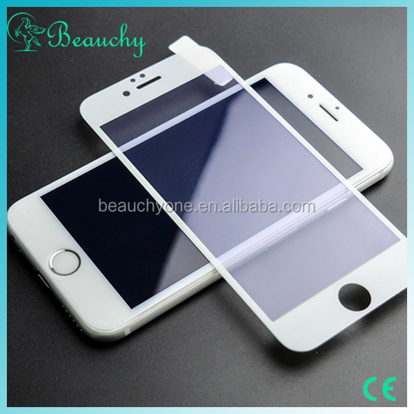 2016 BEAUCHY 9H hardness 2.5D round edge anti-radiation tempered glass screen protector for iphone6 & iphone6 plus