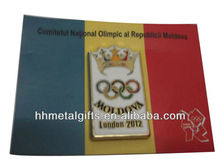 2012 metal olympic pin badge