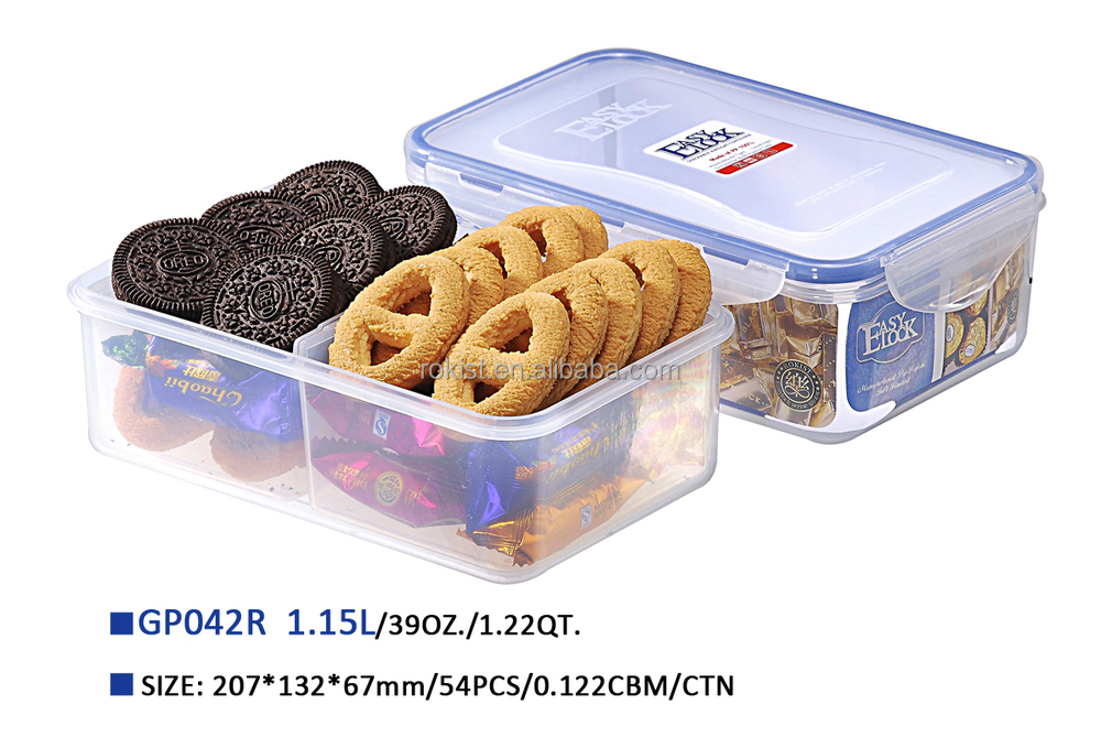 Storage Plastic Box With Divider