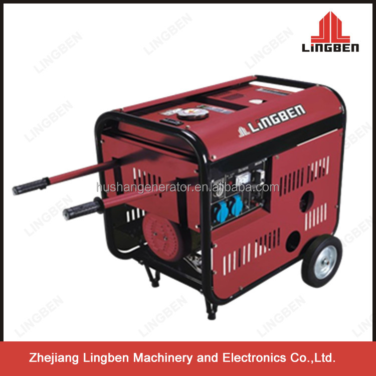China brand 3kw diesel generator with recoil electric start LB 4000WH