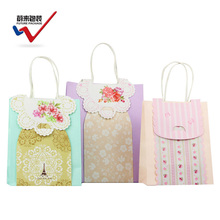 Exquisite beautiful design gift bag small gift candy bags paper