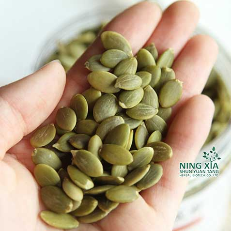 dried shelled green pumpkin seed kernels shine skin - AA grade