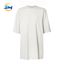 2017 Fashion loose short sleeves t-shirt manufacturers in usa cotton