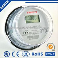 DDS722 Single-Phase Electronic Watt-Hour Meter electric motor rpm meter