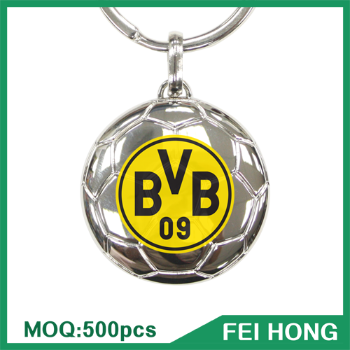 Key Holder Supplier Football Souvenir New Types of Keychain with Logo