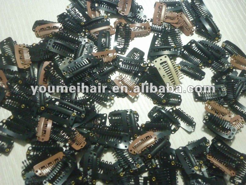 wholesale price toupee clip/ clip-in hair extension/hair accessories