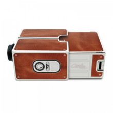 wholesale DIY Mobile Phone Projector Portable Cinema Mini Cardboard Smartphone Projector 2.0