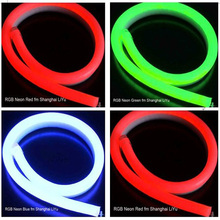High quality colorful multi-color rgb led neon flex light