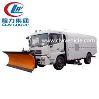 Eritrea 4*2 Road Cleaning Sweeper Truck street cleaning truck for sale