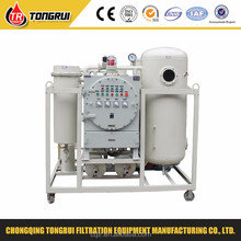 Waste turbine oil filtration systems(decolorizing and dehydration)