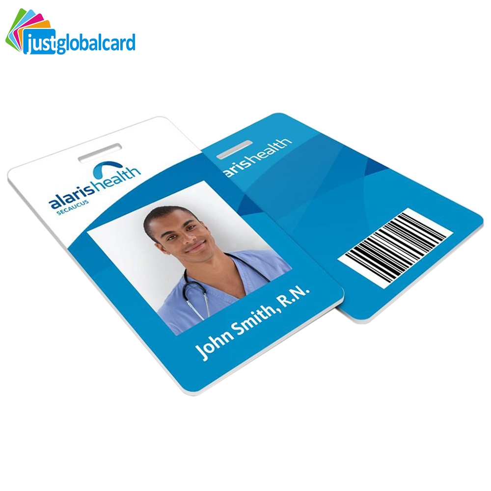 CR80 Customized CMYK printing TK4100 PVC photo RFID ID card