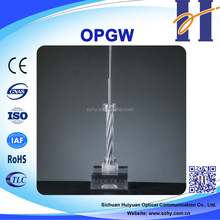 OPGW Composite Overhead Groud Wire with Optical Fibers 48 fibre