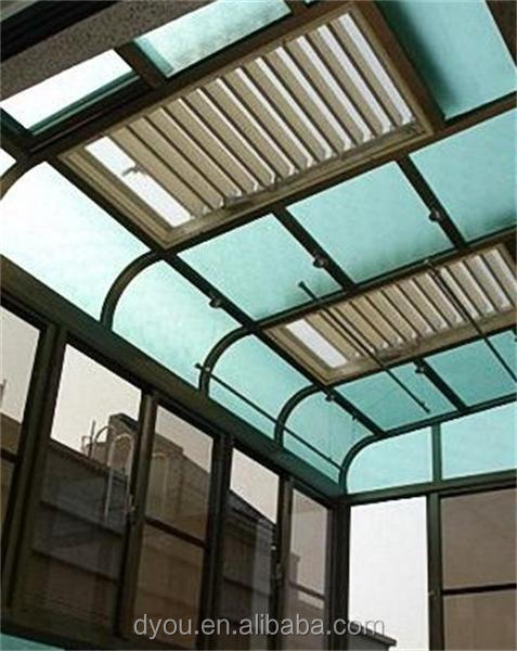 corrosion resistance louver roof