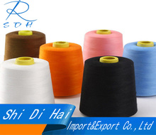 Cheap exporting 100% spun polyester sewing thread 60S/2