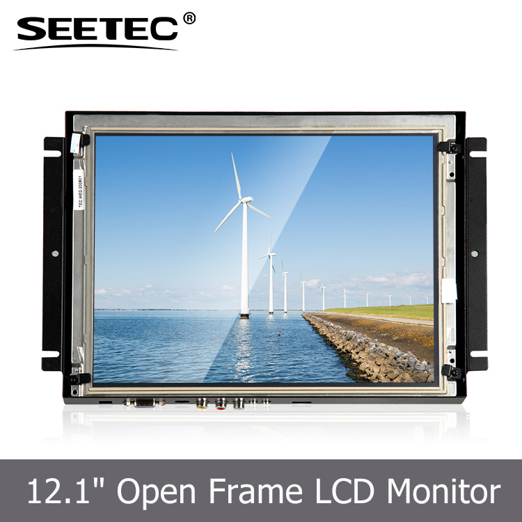 <strong>12</strong>.1'' Universal open frame mounting LCD monitor touch screen big screen