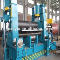 hydraulic 3 roller up roll universal plate rolling machine & sheet bending