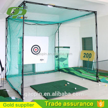 Separable and high quality best backyard golf practice net and cage