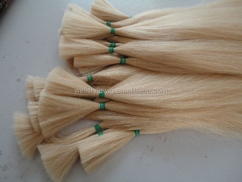 Wholesale Price Full Cuticle Natural Color Double Drawn Remy Virgin Human Hair Extension