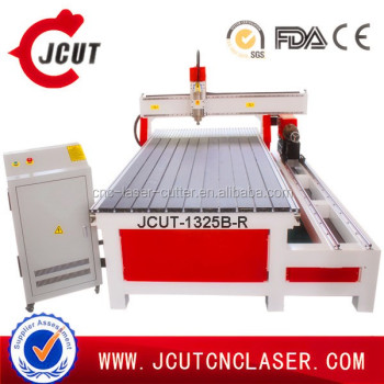 Professional High precision cnc woodworking router for wood furniture making CE ISO factory(1300*2500mm) JCUT-1325B with two sp