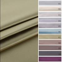 New model design colorful satin UV resistant polyester softtextile luxury curtain fabric