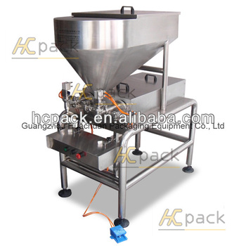 Semi-automatic chili sauce filling machine