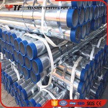 Building materials hot selling schedule 20 galvanized steel pipe