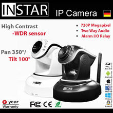 German Wireless Megapixel IP Camera for home/office/shops support P2P Onvif2.0 IN-6012HD