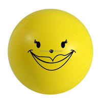 Yellow Smiling Face Anti Stress Reliever Ball Toys