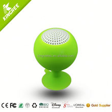 wholesale promotional golf ball shape gift bluetooth speaker with only AUX Optoin