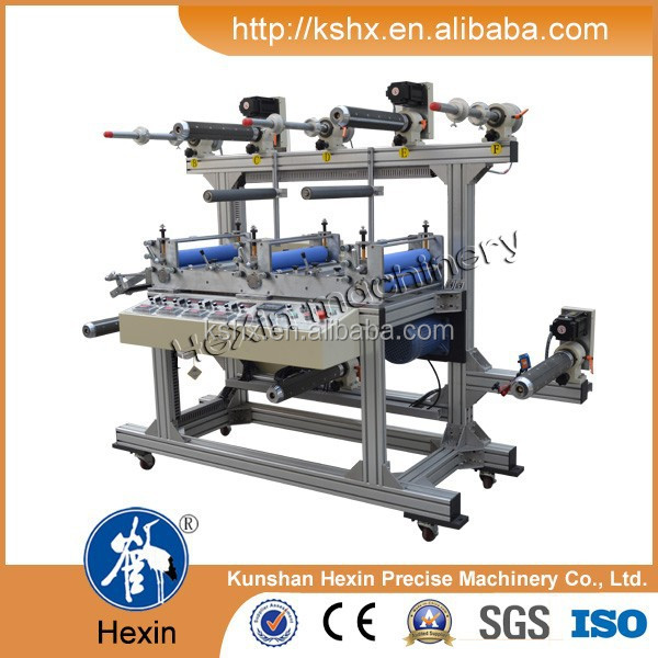 Multi layer roll to roll cold laminating machine