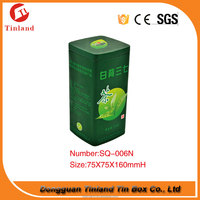 Chinese Packing first grade square tall metal tea cans