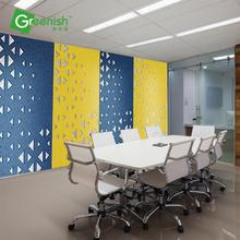 Eco-friendly thermal insulation curved high quality acoustic panel