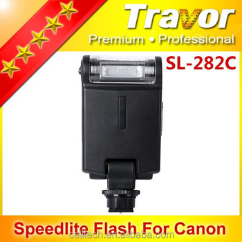Travor hot-sale speedlite SL-282C studio flash, FOR CANON,professional slr camera flash