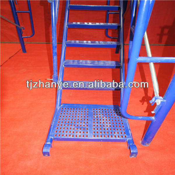Galvanized Aluminium Scaffolding Stairs for construction
