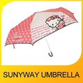 Hello Kitty Folding Umbrella for Girl
