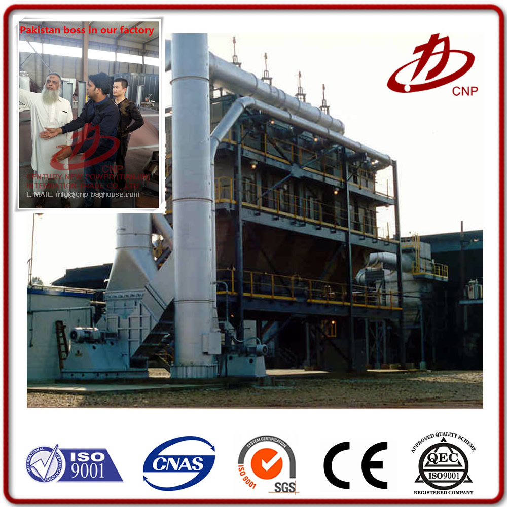 Industrial factory / plant / workshop / mill air filter bag house dust collector