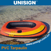 PVC inflatable tarpaulin fabric for boat