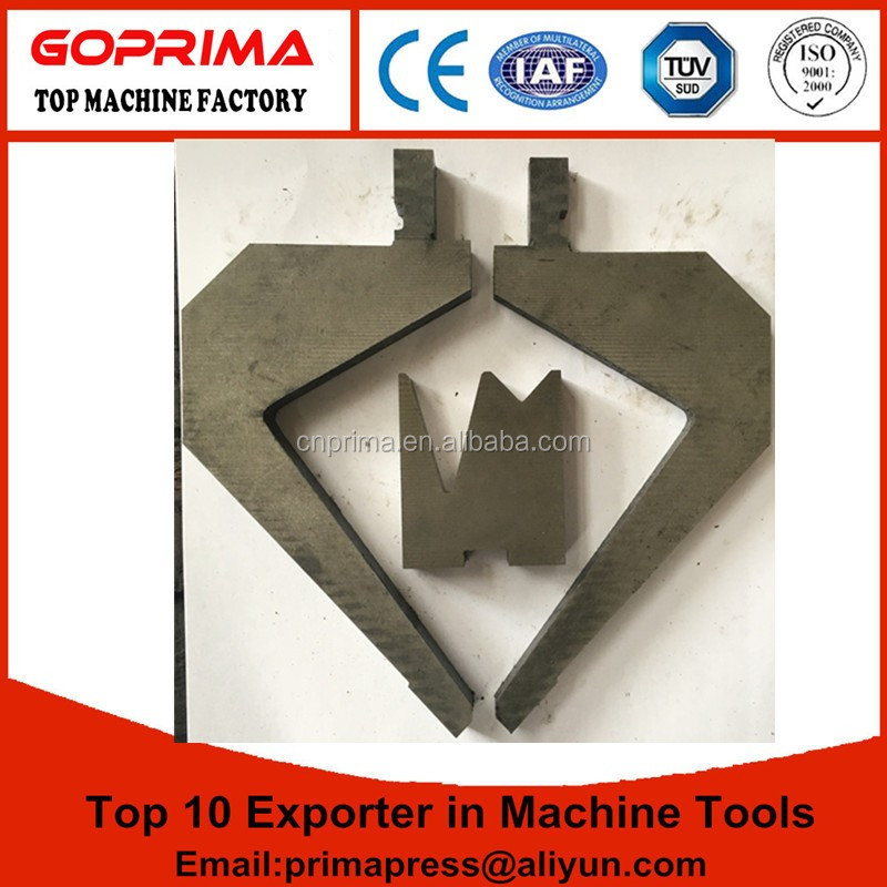 CNC press brake dies/bending machine sheet metal forming dies, press brake die set tools for sale