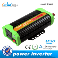 2.1A USB DC to AC 12v 230v car power inverter 500w