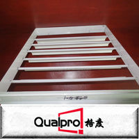 Aluminium Vertical Louver Grilles for HVAC GAL