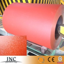 Colored sheet metal , Prepainted galvanized steel coil , chequered wrinkle matt Ppgi ppgl steel coil price per kg ton Alibaba