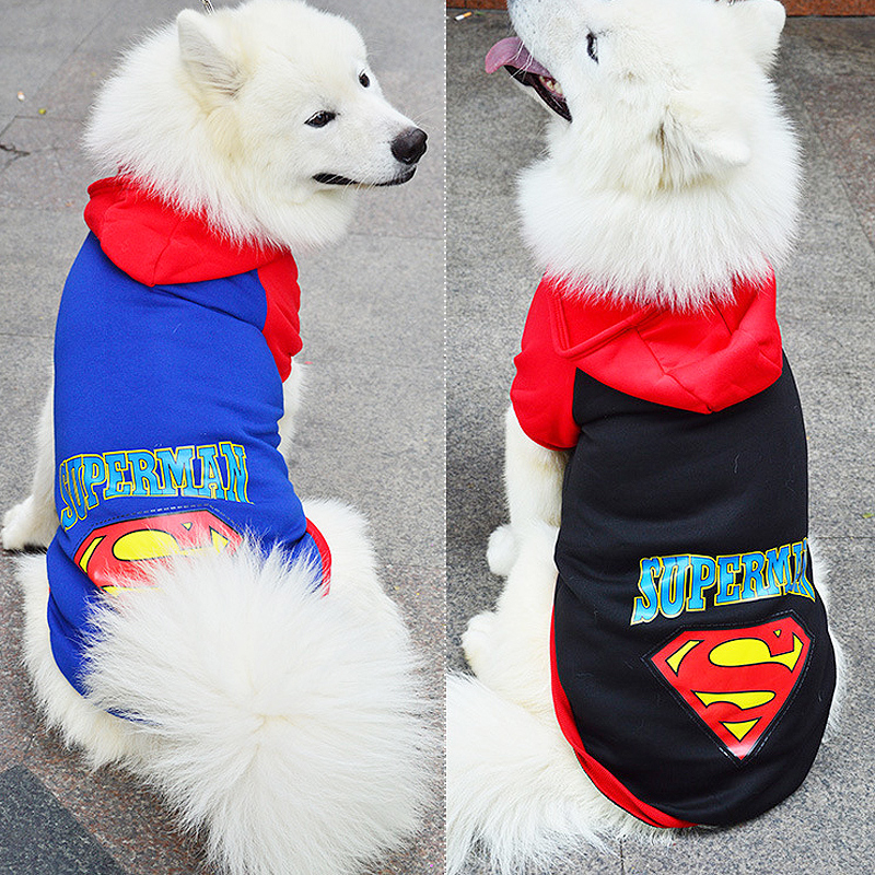 Golden Retriever Sweater Batman Pattern Big Dog Coat