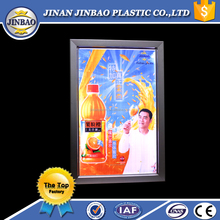 Jinbao high quality acrylic pmma perspex aluminium profile light box