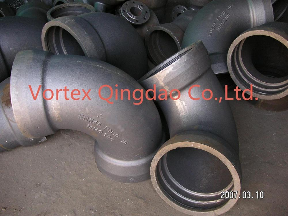 Ductile iron pipe fitting ISO2531 EN545