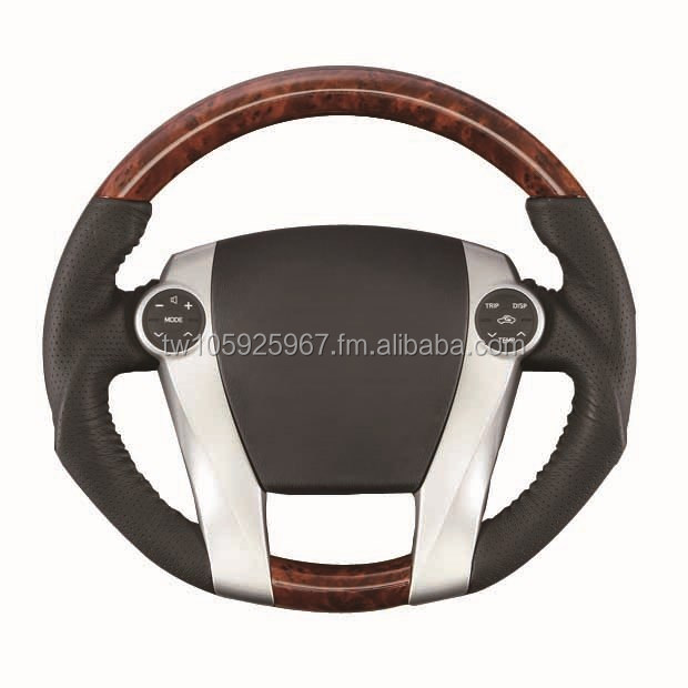 AQUA WOODEN STEERING WHEEL